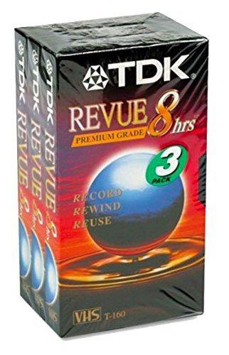 TDK VHS Videocassette
