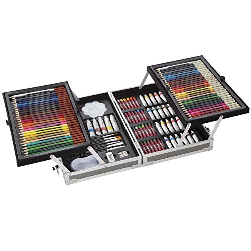 Darice 126 Piece All-Media Art Set from Studio -