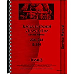 International Harvester 244 Tractor Service Manual