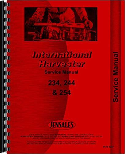 (International Harvester 244 Tractor Service Manual)