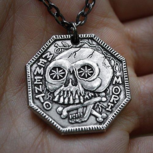 Memento Mori Silver Necklace ()