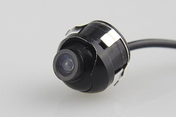 CAR ROVER® Universal Retrovisor del Coche de la Cámara 360 Grados HD Ajustable en Color de Visión Nocturna para Estacionamiento Monitor DVD: Amazon.es: ...