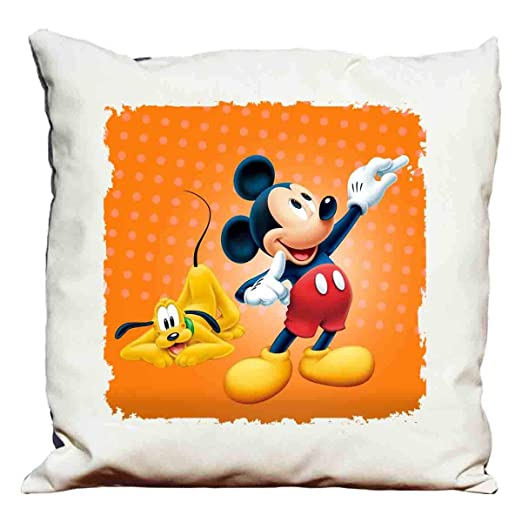 Cojín Mickey Mouse: Amazon.es: Hogar
