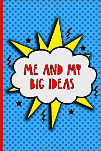 Kids Notebook Me and my Big Ideas Super Hero journal for