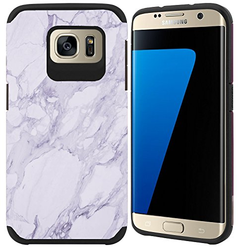 Shockproof Armor Case for Samsung Galaxy S7 Edge (Crystal/Aqua) - 3
