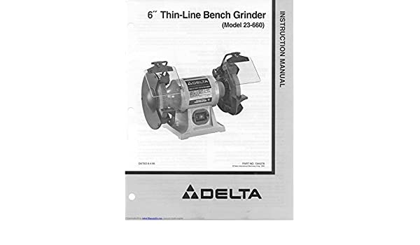 Fine Delta 23 660 Grinder Owners Instruction Manual Reprint Dailytribune Chair Design For Home Dailytribuneorg