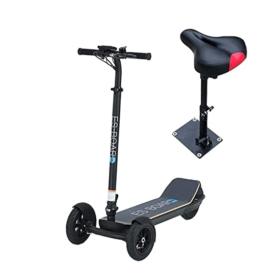ZWQ Asiento Plegable Scooter eléctrico, Adulto Vespa, de ...