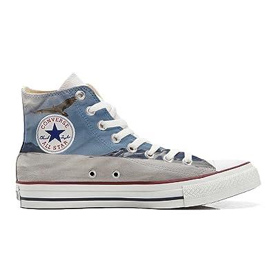 Converse All Star Chaussures Coutume Mixte Adulte (Produit artisanalPersonnalisé) Aquila