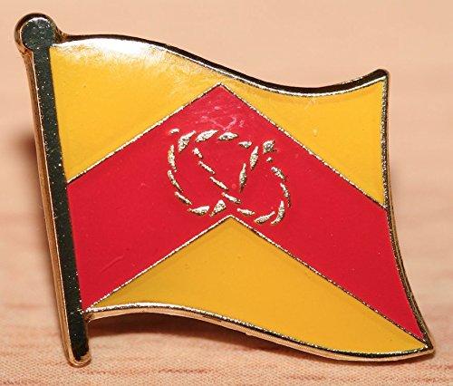 (Staffordshire Stafford England County Flag Enamel Badge)