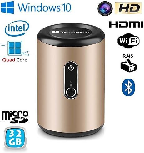 Mini PC Windows 10 TV Box Smart TV Medios Player WiFi Intel 32 GB: Amazon.es: Informática