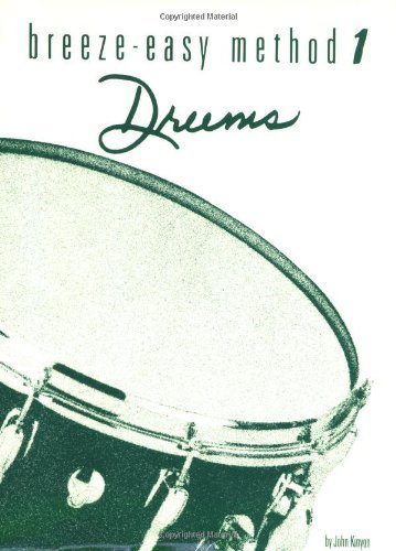 By John Kinyon Breeze Easy Drums, Book 1 [Paperback]