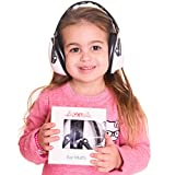 Earmuffs Protection for Kids & Adults:Absolute Hearing Protection Noise Cancelling Headphones. Baby, Toddler & Infant Airplane Ear Muffs, Sound Blocking Earphones (Black and white)