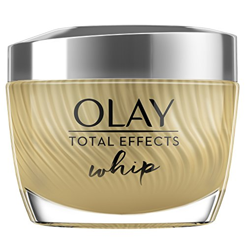 Face Moisturizer by Olay Total Effects Whip Light Face Moisturizer with Vitamins C, E, B3 & B5 for Even Skin Tone, 1.7 Oz