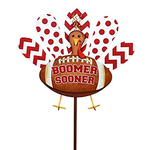 The Round Top Collection - Turkey Small - University of Oklahoma - Metal - Boomer Football