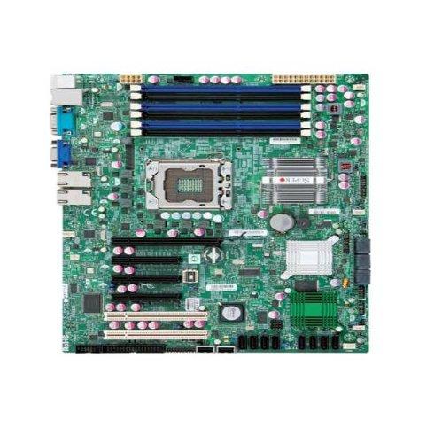 Supermicro X8STE-B LGA1366 Core i7/ Intel X58/ DDR3/ V&2GbE/ ATX Server Motherboard ()