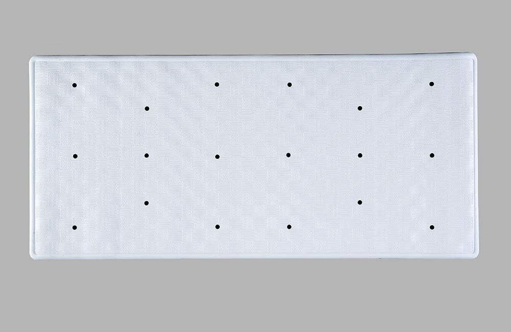 Transparente AQUALONA Comfort Waves Alfombrilla de ba/ño 35cm x 65cm