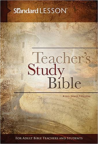 Standard Lesson Teacher's Study Bible—King James Version (Hardcover
