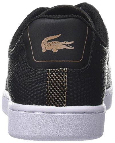 Lacoste Carnaby Evo 118 2 Spm, Sneaker Uomo Nero (Blk/Lt Tan)