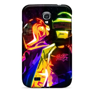 Perfect Cell-phone Hard Cover For Samsung Galaxy S4 (sGm9988dndM) Unique Design Attractive Daft Punk Band Image