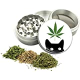 Weed Cat Design -42 mm- 4Pcs Small Size Grinder Item # G42-8715-11