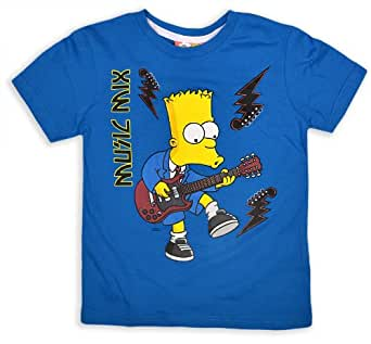Boys bart simpson t shirt kids simpsons top for Simpsons t shirts online