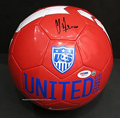 27035cbcdf2 Clint Dempsey Autographed USA Soccer Ball - PSA DNA COA. Signed at private  signing.