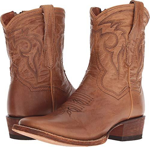 Dan Post Womens Bay Apache Cowboy Boots Leather Broad Square Toe 6 M