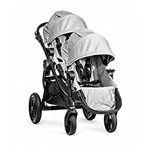 Baby Jogger 2016 City Select Single Stroller with Second Seat - Silver / Black