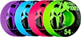 Bones Wheels 100's Assorted Colored Wheels (54 x 32mm)
