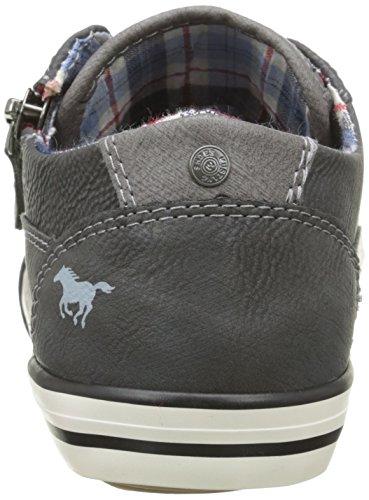 Mustang Unisex-Kinder 5803307 Sneaker Grau - Gris (259 Graphit)