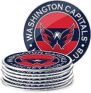 Mustang Products Washington Capitals 8 Pack Team Logo Coaster Set
