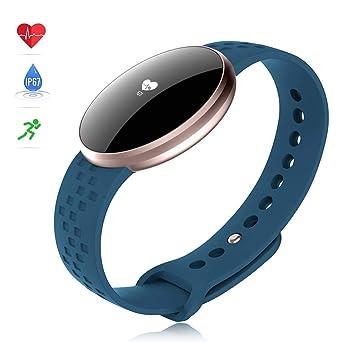 Bozlun Montre intelligente capteur dactivité pour femme, Avec moniteur de fréquence cardiaque, fonction distance, moniteur de sommeil, Compatible ...