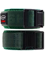 Original Casio G-shock Glide Green Velcro Nylon Replacement Watch Band 23-24mm Dw 003 Casio G-shock Glide Green...