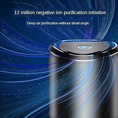 XHLLX Esterilización Desinfección Coche Anti-Virus Máquina Ambientador De Aire Purificador 360 De Filtración HEPA con Filtro Perfume Salud: Amazon.es: Hogar