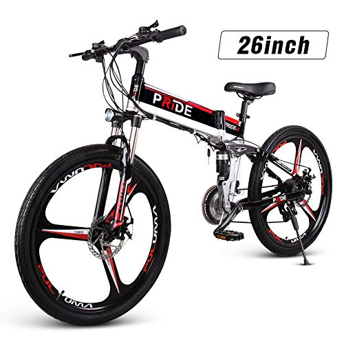 ENGWE Folding Full Suspension Electric Bike with 26