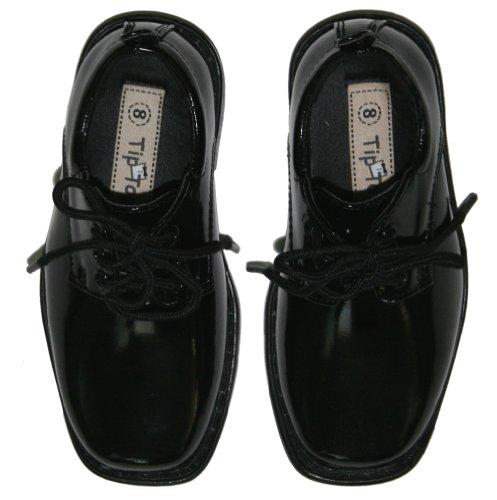 Tip Top, Black Patent Dress Oxford Shoes