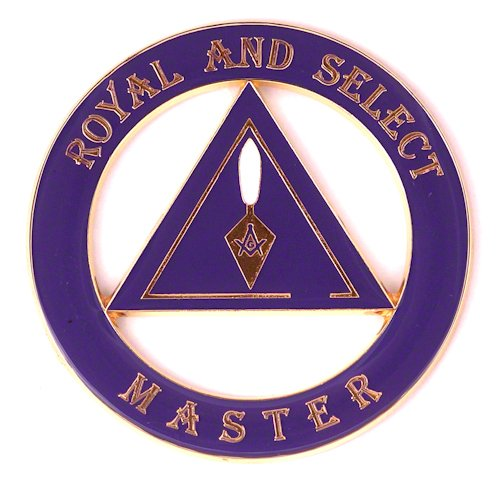 UPC 852669447548, Masonic Exchange Cryptic Council Royal and Select Masters Auto Emblem Car Decal