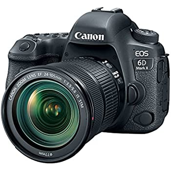 "Fixed Canon EOS 6D Mark II Digital SLR Camera Body /â/€/"" Wi-Fi Enabled Bundle with Canon EF 50mm f//1.4 USM Standard /& Medium Telephoto Lens for Canon SLR Cameras"