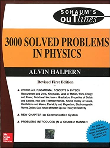 buy solved problems in physics schaum outline series book  buy 3000 solved problems in physics schaum outline series book online at low prices in 3000 solved problems in physics schaum outline series