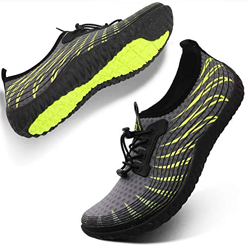 Spesoul Womens Mens Water Sport Shoes Outdoor Quick Dry Barefoot Aqua Athletic Shoe for Beach Swim Surf Diving Yoga