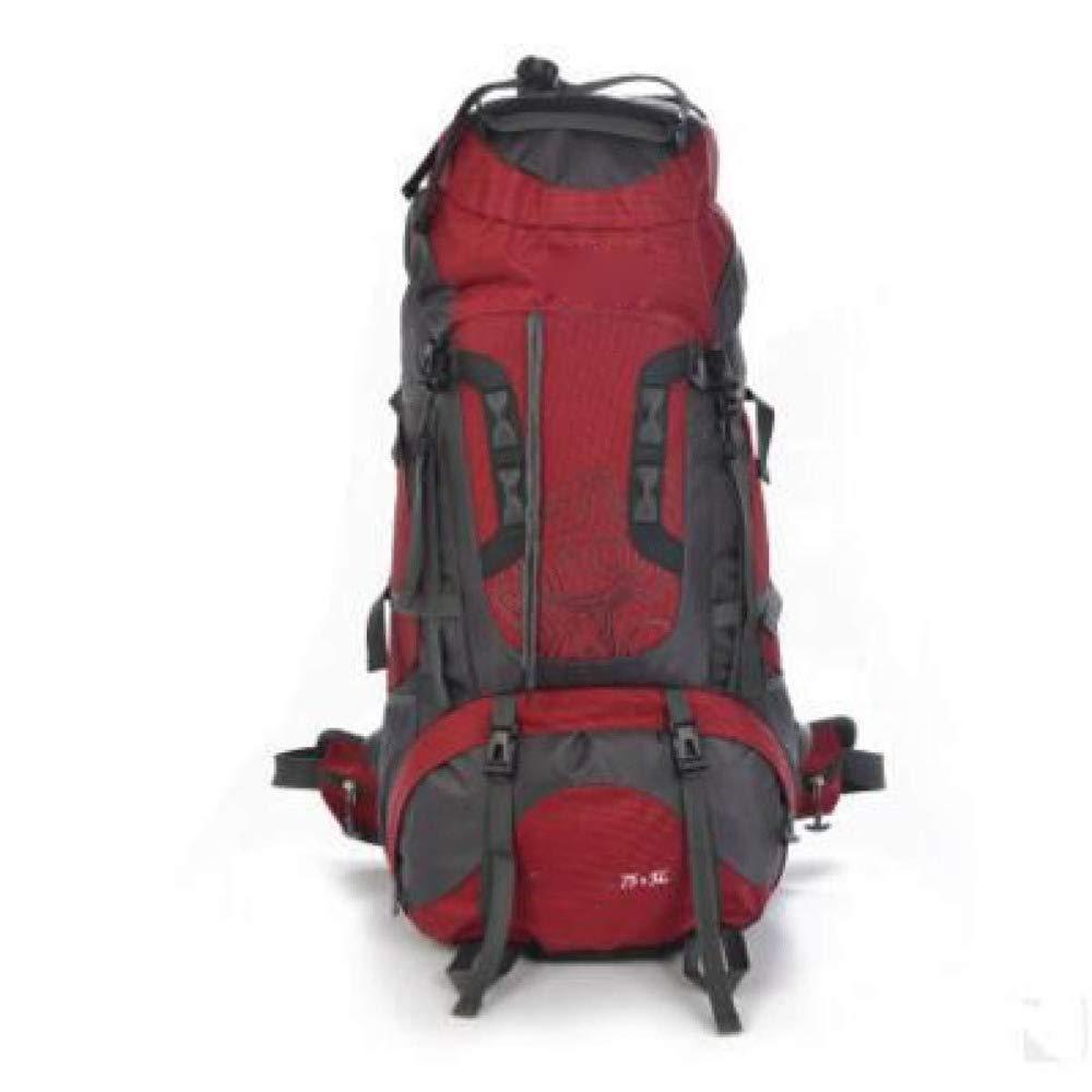 Alpinisme Sac En Plein Air Loisirs Sac À Dos Randonnée Camping Sac À Dos Grande Capacité 56-75L Sports Adventure Backpack Imperméable Et Durable Sac D'alpinisme 33 * 29 * 75cm Multi-couleur En Option