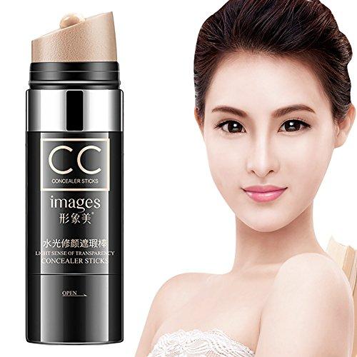 - Ivory Colour CC Concealer Stick Light, Full-coverage Dark Circle Eraser Concealer Waterproof 1.05Oz Cutelove