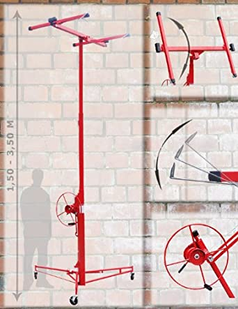 Xxl Plattenheber Plattenlift Rigips Heber Bis 3 50 Meter Amazon De