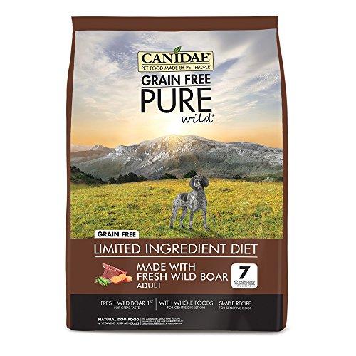 CANIDAE Grain Free Pure Wild Adult Fresh Wild Boar Dog Food, 4 lbs.