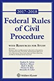 img - for Federal Rules of Civil Procedure: 2017-2018 Statutory Supplement with Resources for Study (Supplements) [8/10/2017] Stephen N. Subrin book / textbook / text book