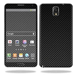 Bloutina Protective Vinyl Skin Decal Cover for Samsung Galaxy Note 3 III N9000 Sticker Skins Carbon Fiber