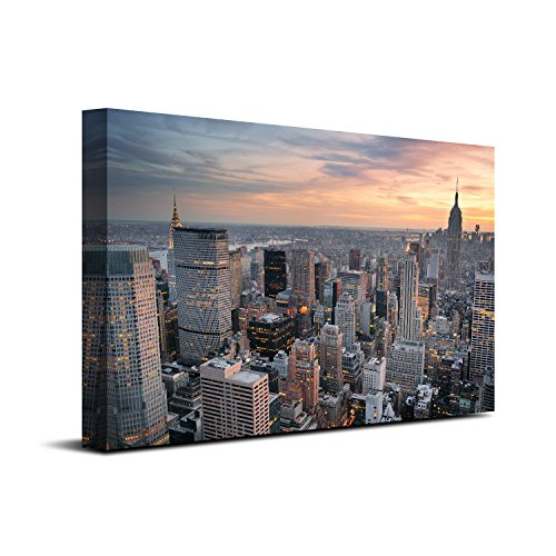 Royllent 1 Panel Framed Wall Art 16x24inch New York City Pai
