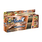 """YOSHI GRILL & BAKE MATS (2 Pack), Copper 13 100% non stick - food slides right off! Contains 2 mats for grilling and/or baking - each measure 15. 75"""" x 13"""" Infused with real Copper, PFOA free and can withstand heat up to 500 degrees"""