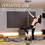 VIVOHOME Portable Spinning Dance Stripping Pole for