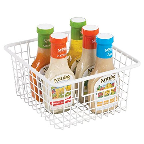 fridge baskets with handles - 8